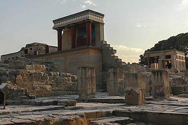 Crete - Heraklion, Knosos Palace