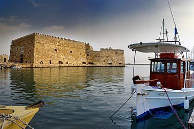 Crete - Heraklion, Koules Fortress