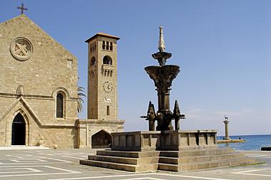 Rhodes - Evangelismos