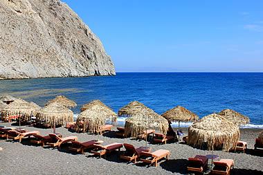 Santorini - Perissa Beach