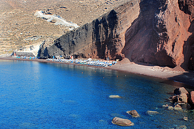 Santorini - The Red Beach