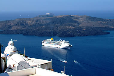 Santorini - Sea View