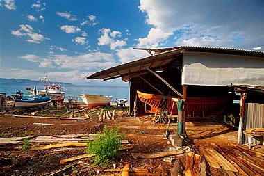 Halkidiki - The Shipyards of Ierissos