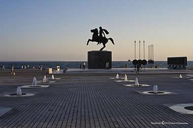 Thessaloniki - Alexander the Great Monument
